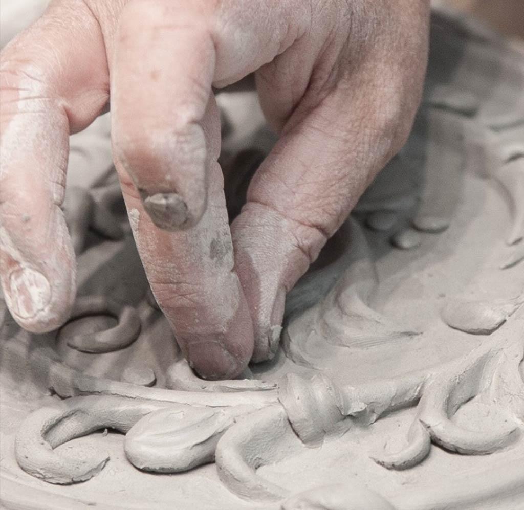The Art of Handmade Tiles. Creation