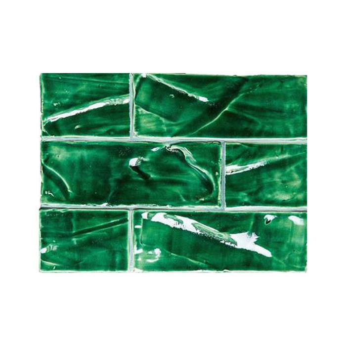 Subway 3x8 tile Emerald green