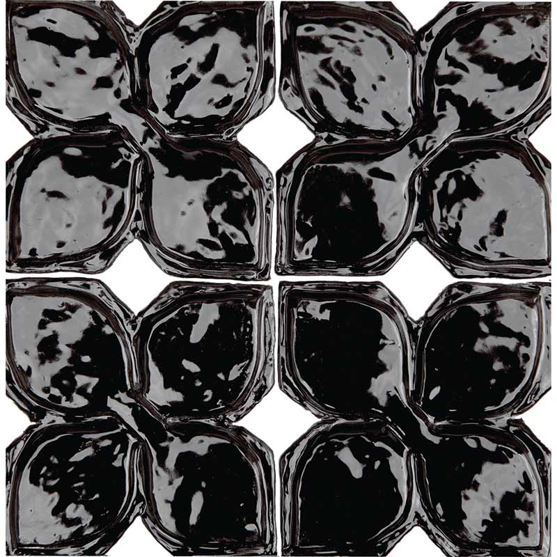 Belmont-1-decorative-handmade-tile-black