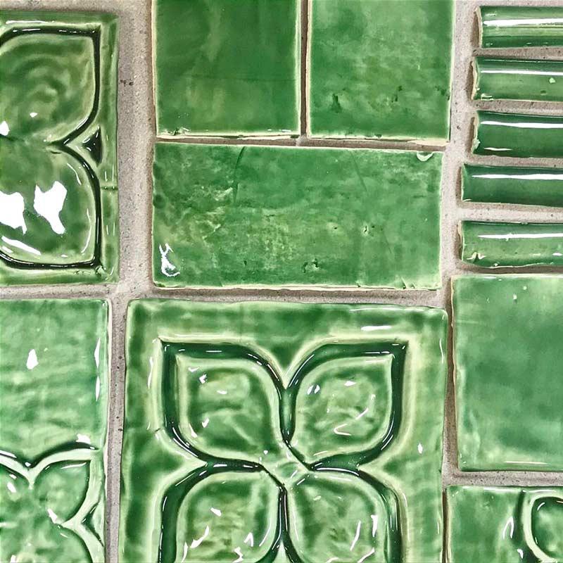 Belmont-1-decorative-handmade-tile-emerald-green
