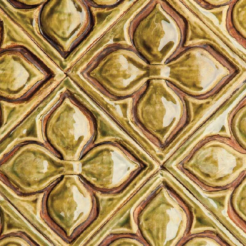 Belmont-1-decorative-handmade-tile-olive