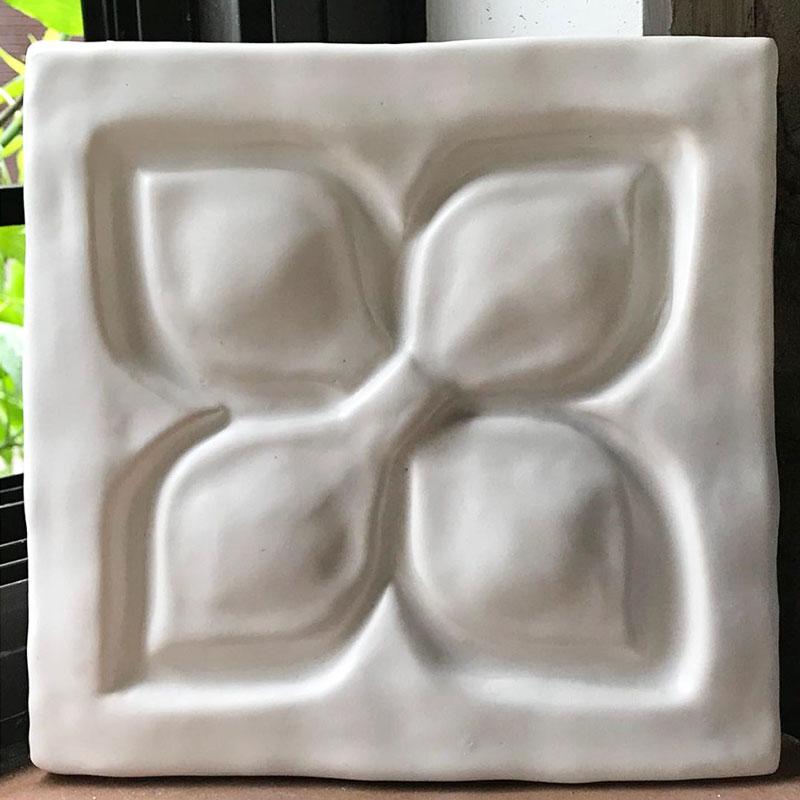 Belmont 1 decorative handmade tile