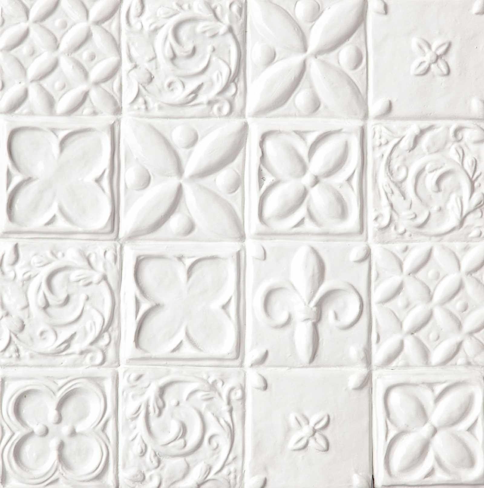 Handmade decorative tile
