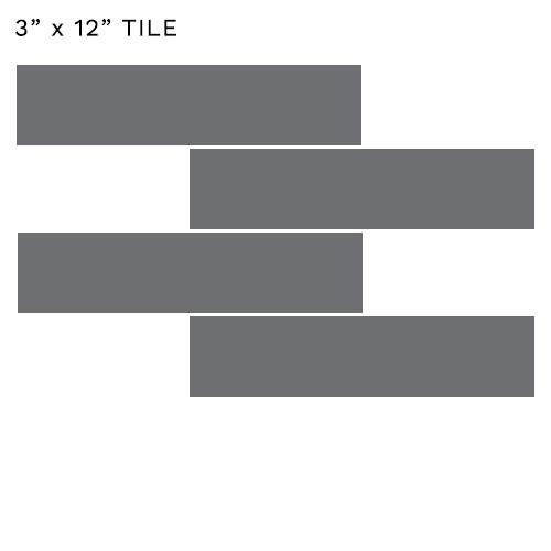 3x12 tile size