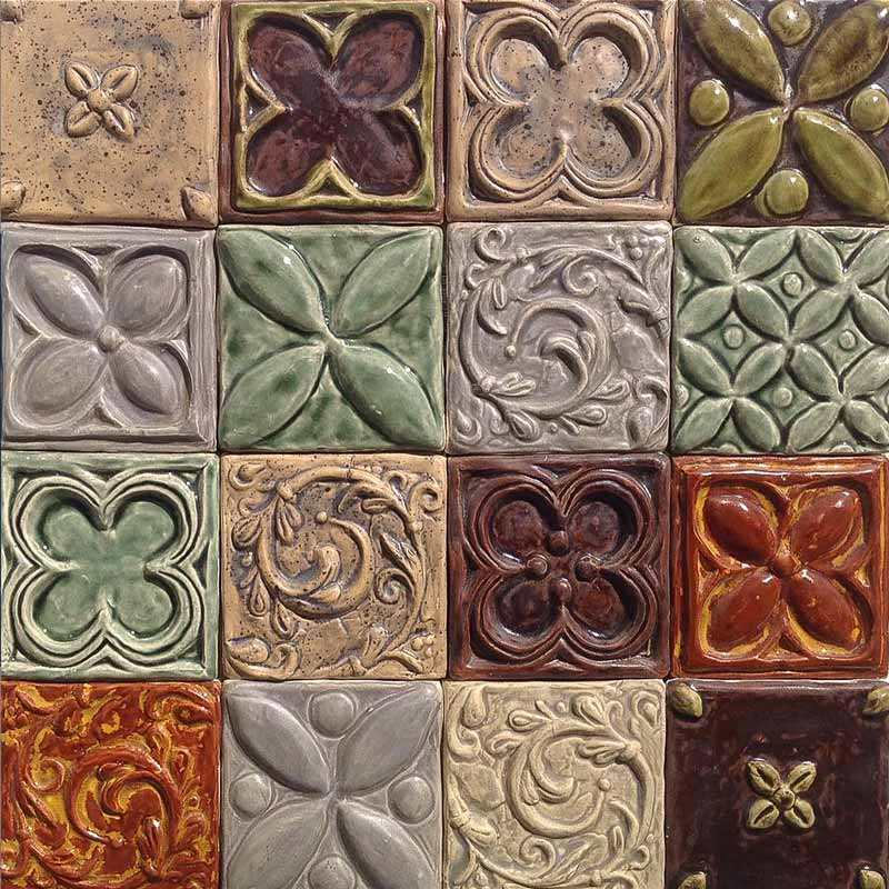 Bantry 1 decorative handmade tile wall