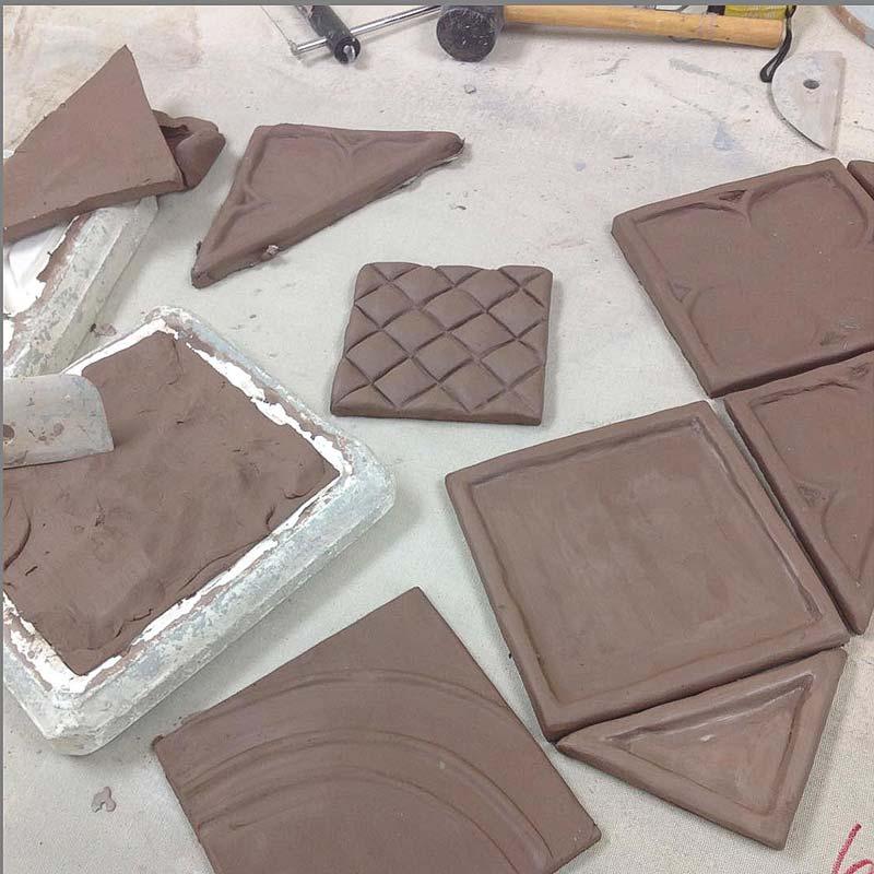Gate-field-decorative-handmade-tile-mix