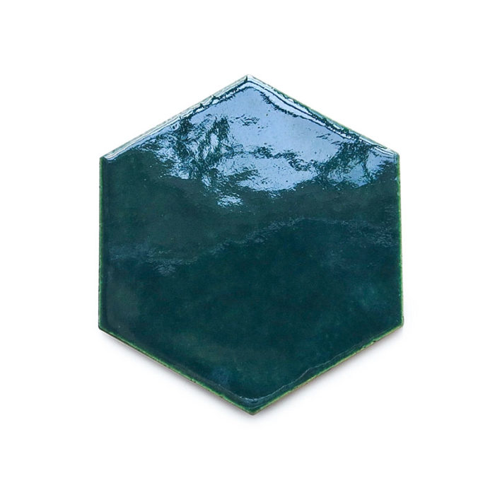 hexagon-tiles-in-a-brushed-on-teal