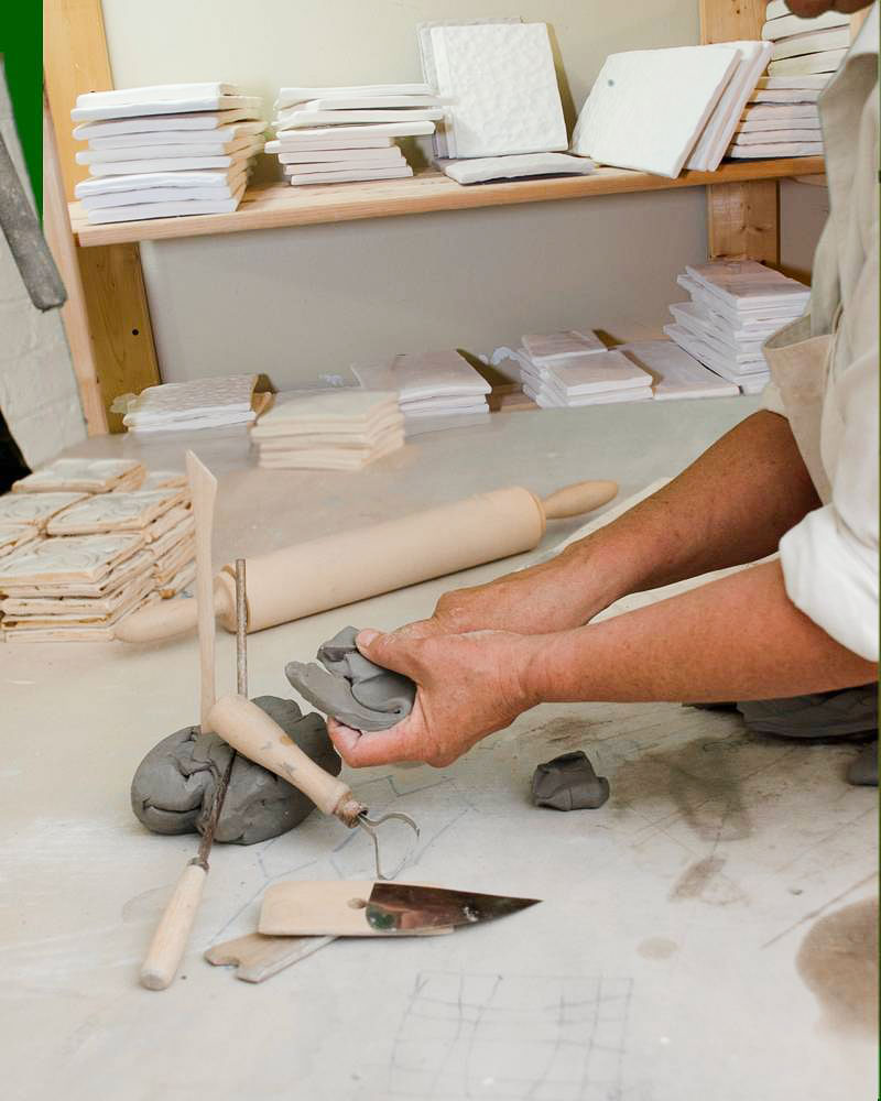 Handmade Tiles - How They're Made