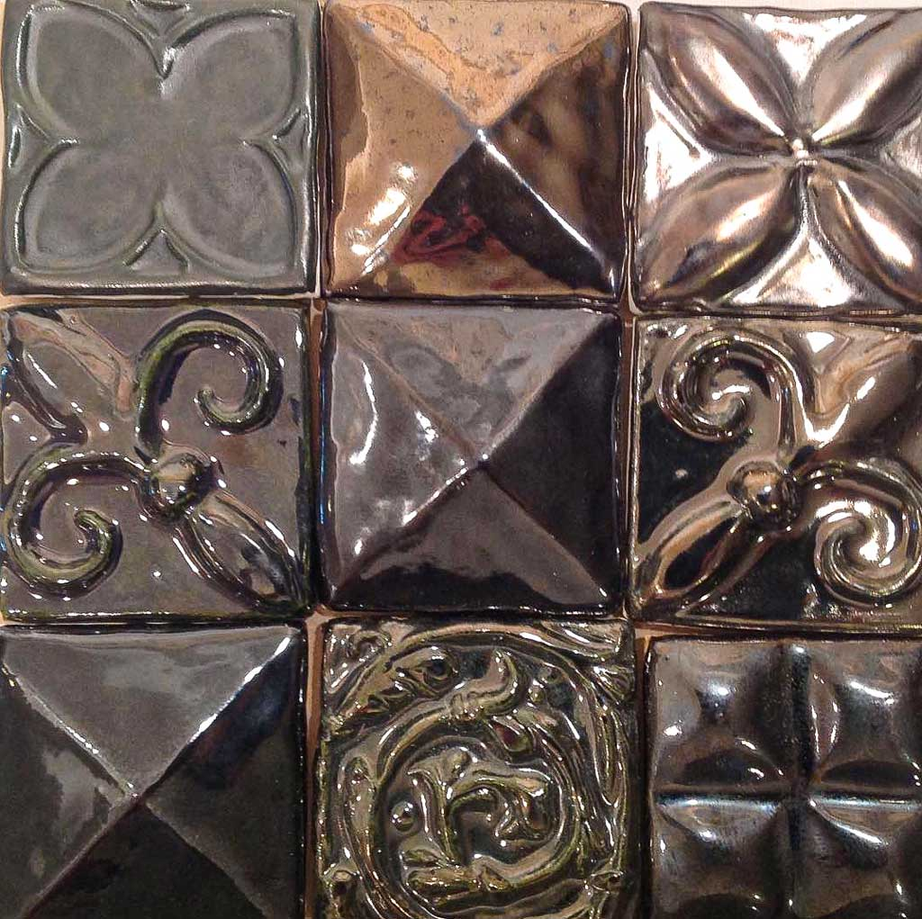 Metal Glaze Tile Series