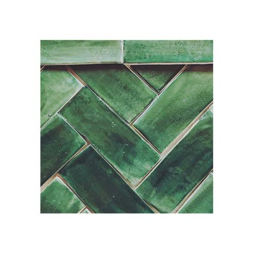 Subway Tile 3 x 8 Hunter-Green-Glaze