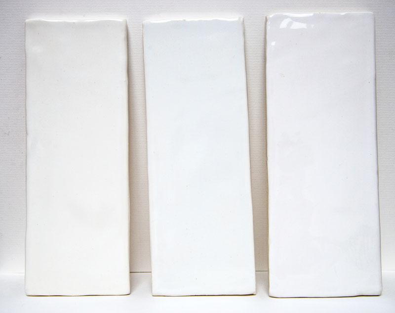 Subway Snow White Glaze Tile 3x 8 Shades