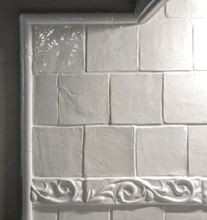 Custom Kitchen Wheat sheaf tile panel Fox Glove Design in Aurora