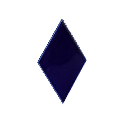 diamond tile navy blue