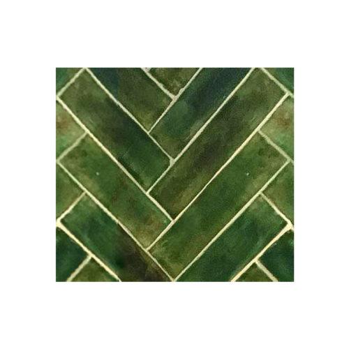 3 x 12 Subway Tile Olive Green