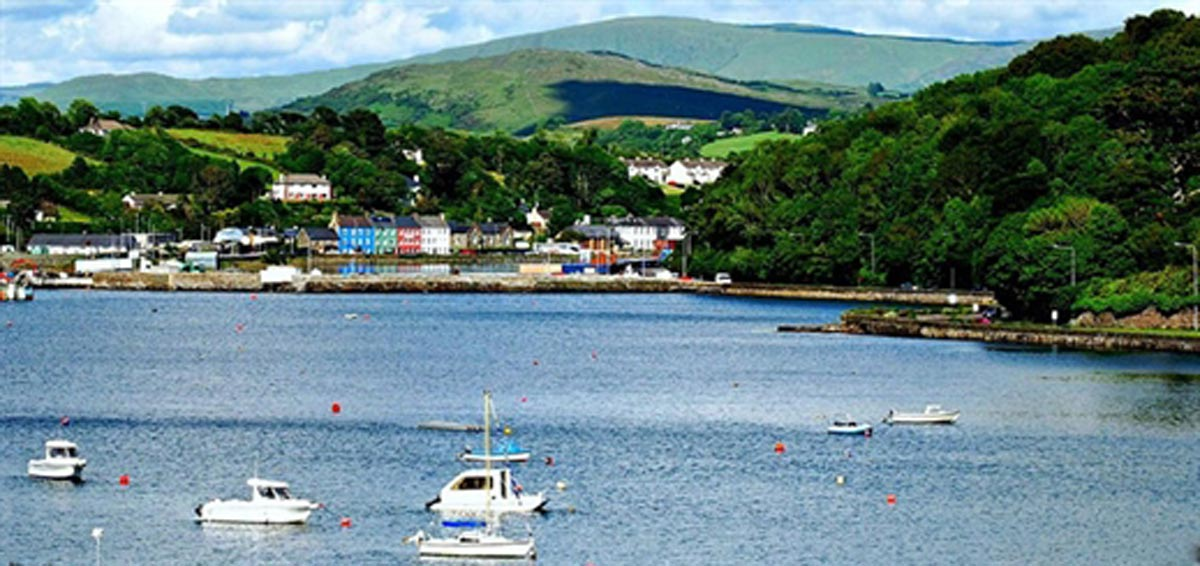 Irish town of Bantry-in-County Cork